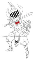 Bow tie Knight by Project-Cow