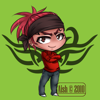 Chibi Commish for Jeremy by Aish89