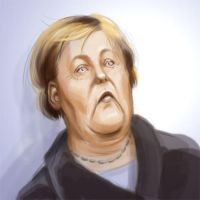 Angela Merkel by reginade