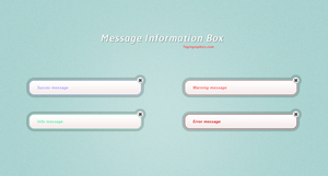 Information Message Box by SuTegin