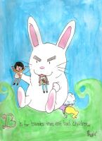B is for Bunnies by ChangeTheWater