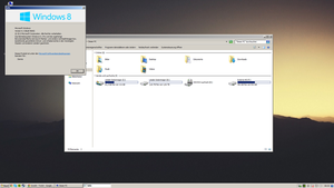 WINDOWS 8.1 WITH THE REAL CLASSIC THEME by GTAGAME