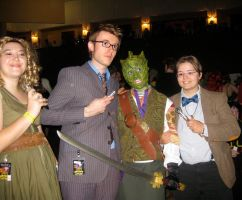 River, Ten, Vastra, and Eleven by Metal--Chocobo