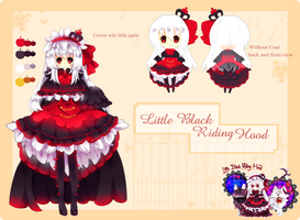 Black riding hood Auction(Closed) by Maruuki
