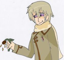 APH: Ivans broken flower by Starlord-wannabe