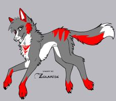 wolf/dog adopt (open) by kittycat-adopts