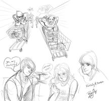 MotorCity: Muck sketches and stuff by Rice-Lily