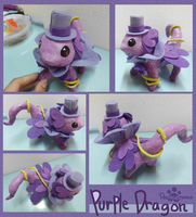 :A Purple Dragon: by PrePAWSterous