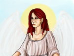Anna - Angel of the Lord by Dizi-ramm-archive