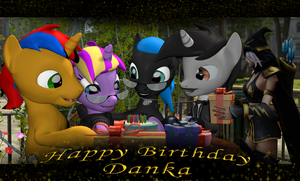 Happy Birthday, Danka. by Neros1990
