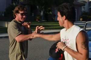 Antonio and Brian Fighting Jimrock pic by OgJimrock
