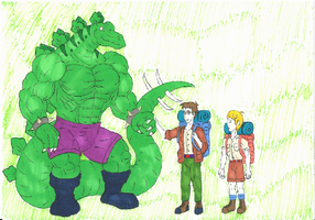 Extreme-Dinosaurs-Stegz-meet-Mr-Bigg-and-Henry-Big by darkcolorfulspots