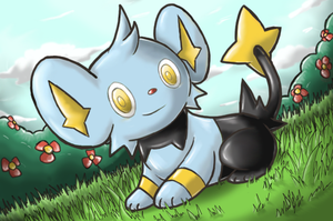 Shinx - Shining Forest art by nintendo-jr