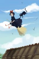 Kiki's Delivery Service by ditto9
