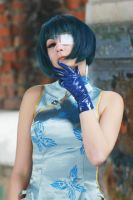Ryomou Shimei - Chinese dress by HonnoriVanilla
