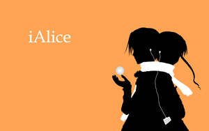 iAlice wallpaper by rosepetal04
