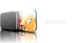 JD Applejack Wallpaper by InternationalTCK