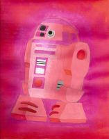A painting project of my own droid named JD-X9 by Magic-Kristina-KW