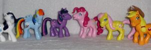 * FOR SALE! * MLP ''Old Meets New'' Custom Group 1 by UniqueTreats
