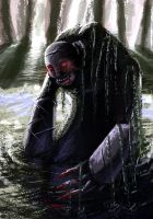 Swamp monster by Einoin