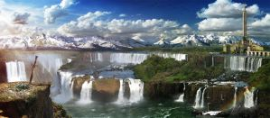 Waterfalls - Cataratas by sith-x