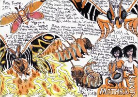 Godzilla: Myths and Mutations - MOTHRA 1 by Khialat