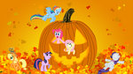MLP Fall Wallpaper by sakatagintoki117