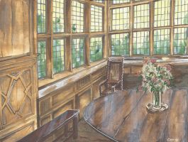 The wooden Room by WilliWeissfuss