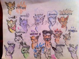 Riverclan Deviantart ppl by SimplyMisty