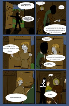 Chapter 1 The wolves (page 11) by Jacob-Rain