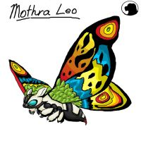 Godzilla Animated: Mothra Leo. by Blabyloo229