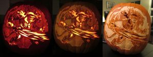 2012 Pumpkin Carving - Rytlock by Armuri