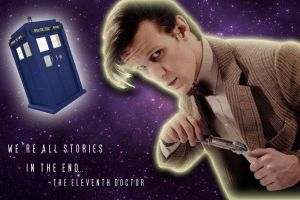 We're All Stories in the End... by DrWhoProductions