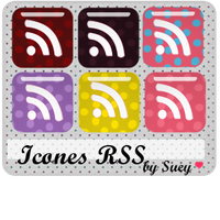 Icons RSS Polka Dots by ladymoom