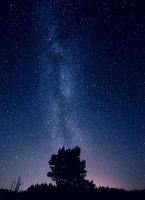Night Sky by MikkoLagerstedt