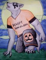 happy howl-o-ween by wolften19