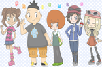Pokemon X and Y : Rivals and friends by poigo