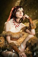 Nidalee cosplay from League of Legends by Rcsixtyfour
