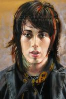 Ronnie Radke close-up by Cynthia-Blair