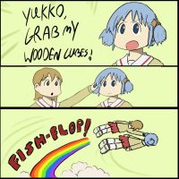 Nichijou Adventure... by captain-70s