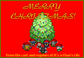 It's a Chao's Christmas Card by SecksShae