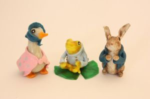 Beatrix Potter - Peter Rabbit and friends by LitefootsLilBestiary