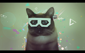 hipster cat by Nablo92