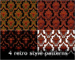 4variants retro pattern by Rizl4