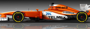 McLaren Honda 2015 by pieczaro