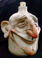 Smiling man small jug by thebigduluth