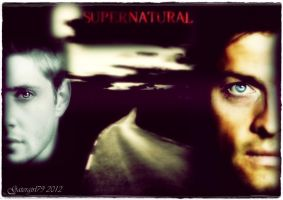Dean and Castiel by Gatergirl79
