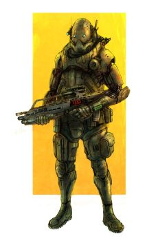 Light Infantry by flyingdebris