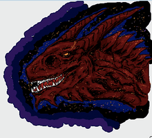 iScribble Red Dragon by LuckyIrishEyes