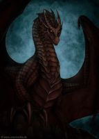 Black Dragon by ArkaEdri